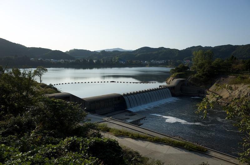 131014 湯田貯砂ダム