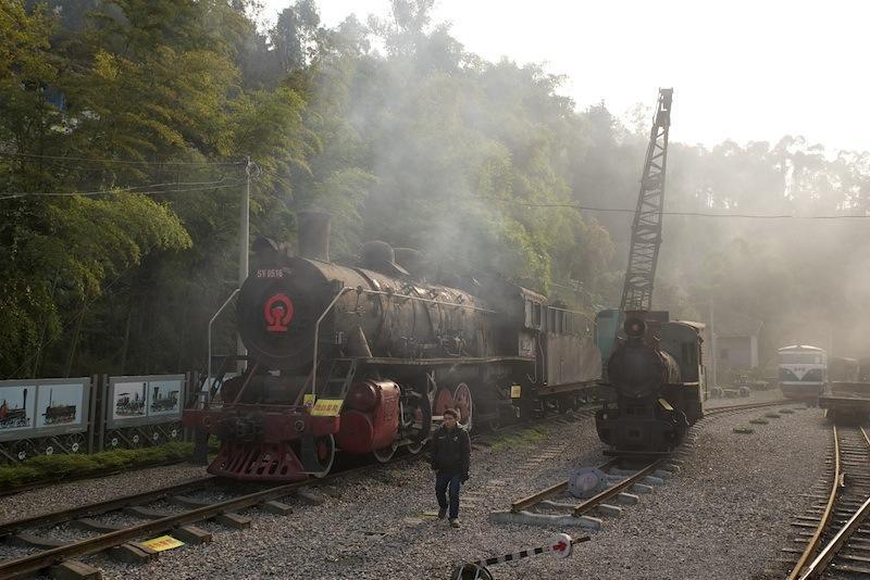 131230 蜜蜂岩鉄道公園の機関車たち