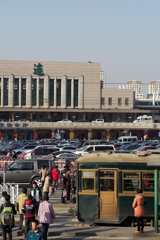140102 大連火車站電停