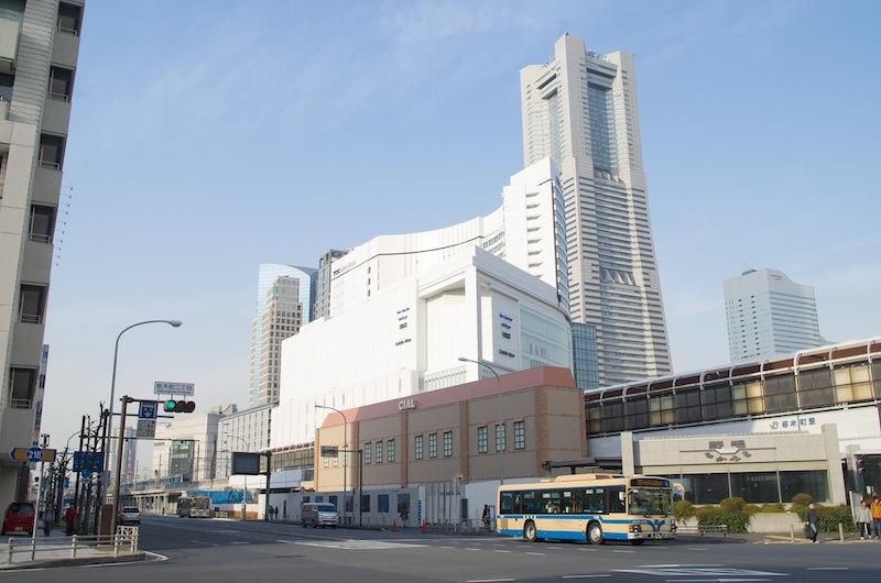 140201 桜木町駅遠景