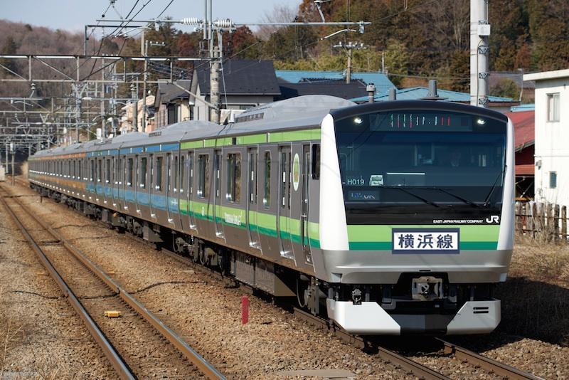 140308 横浜線E233系混色編成