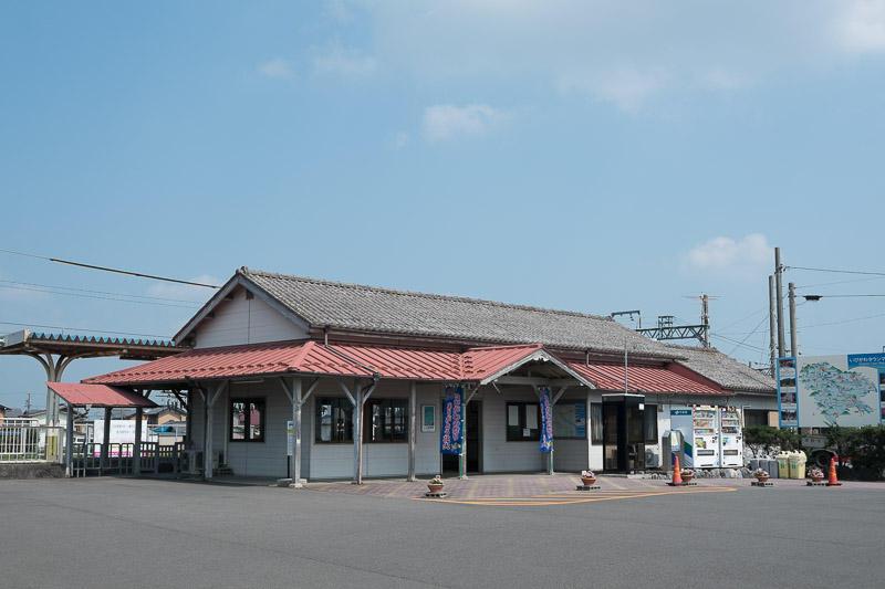 140721 揖斐駅舎外観