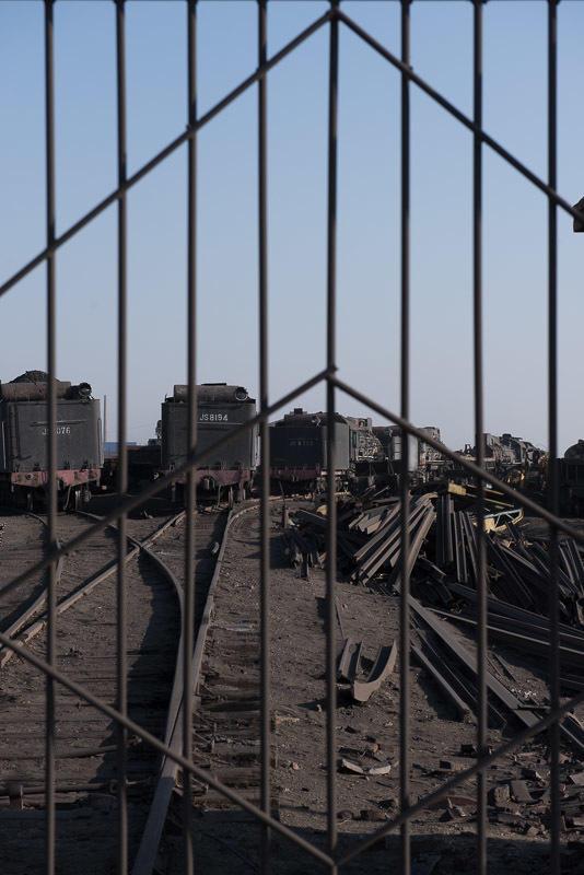 141230 廃車となった三道嶺の蒸気機関車