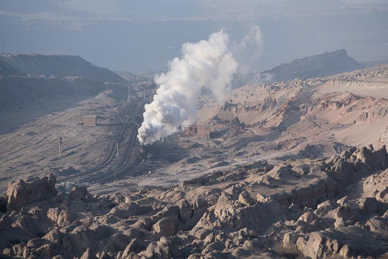 141230 三道嶺「火星」をゆく蒸機