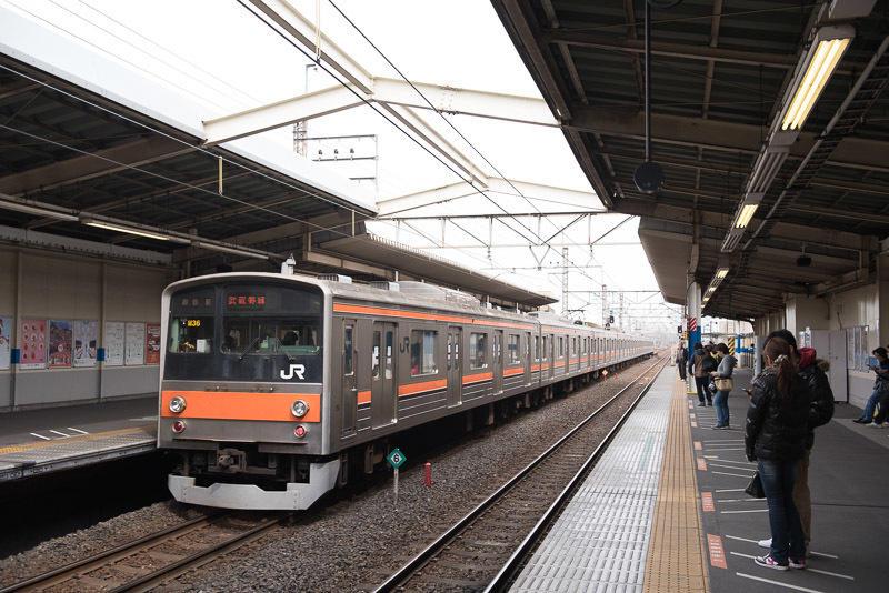 150329 武蔵野線205系