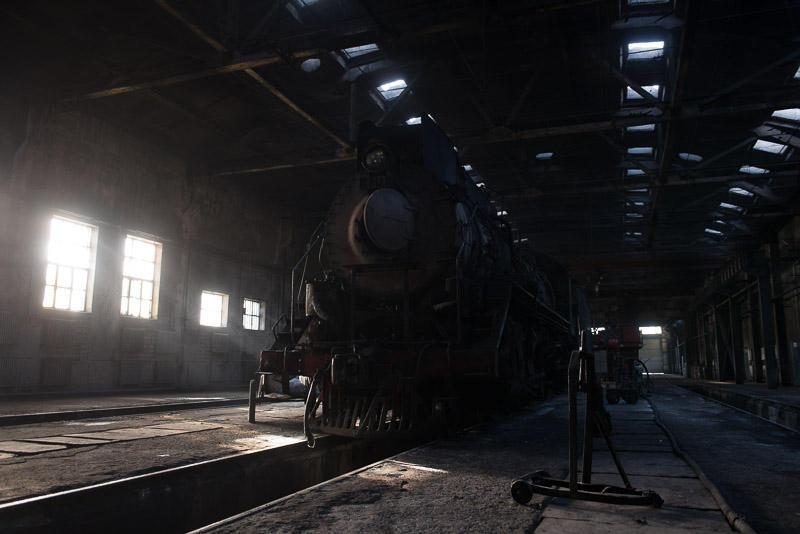 151228 斜光線の蒸機