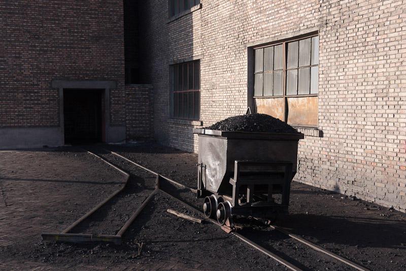 151228 構内利用石炭用のトロッコ