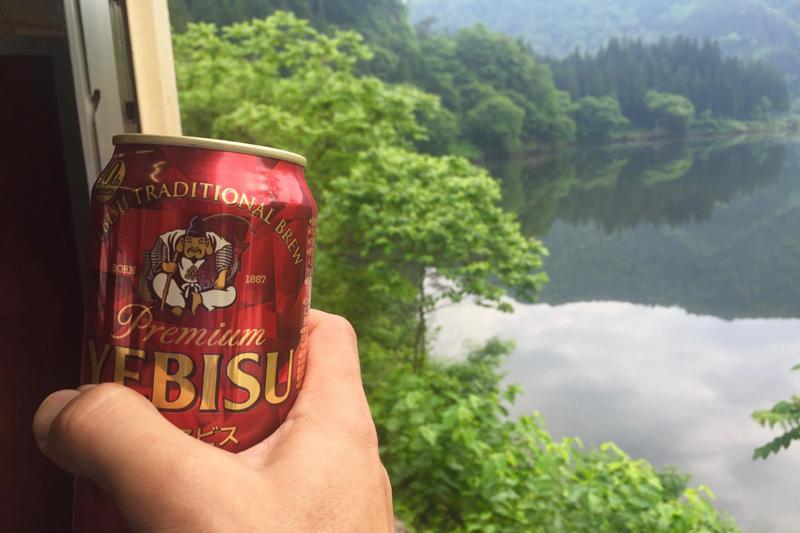 160525 ビールと只見川