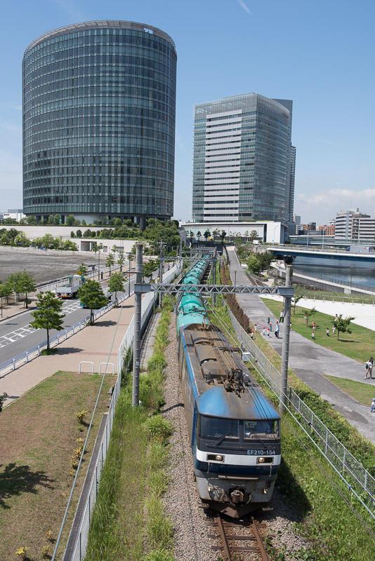 160610 高島を走る3093列車
