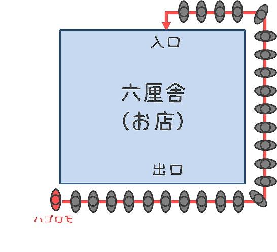 六厘舎_行列2