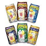 宝 極上レモンサワー 6種 飲み比べセット[350ml缶×12本/各種2本ずつ]