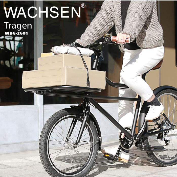 """荷物を運ぶ""""とこに重点がおかれた お洒落なWACHSEN WBG-2601"""