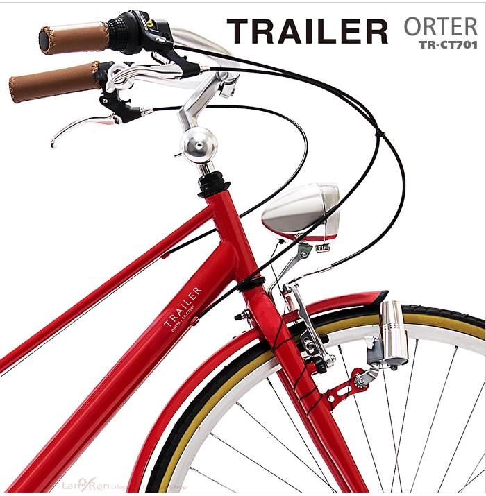 レトロ感たっぷりのTRAILER ORTER TR-CT701