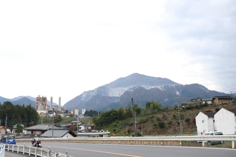 秩父のシンボル 武甲山