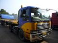 スラバヤで見かけた小名浜R海鉄道のトラック①