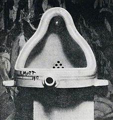 マルセル・デュシャン  泉 Fountain