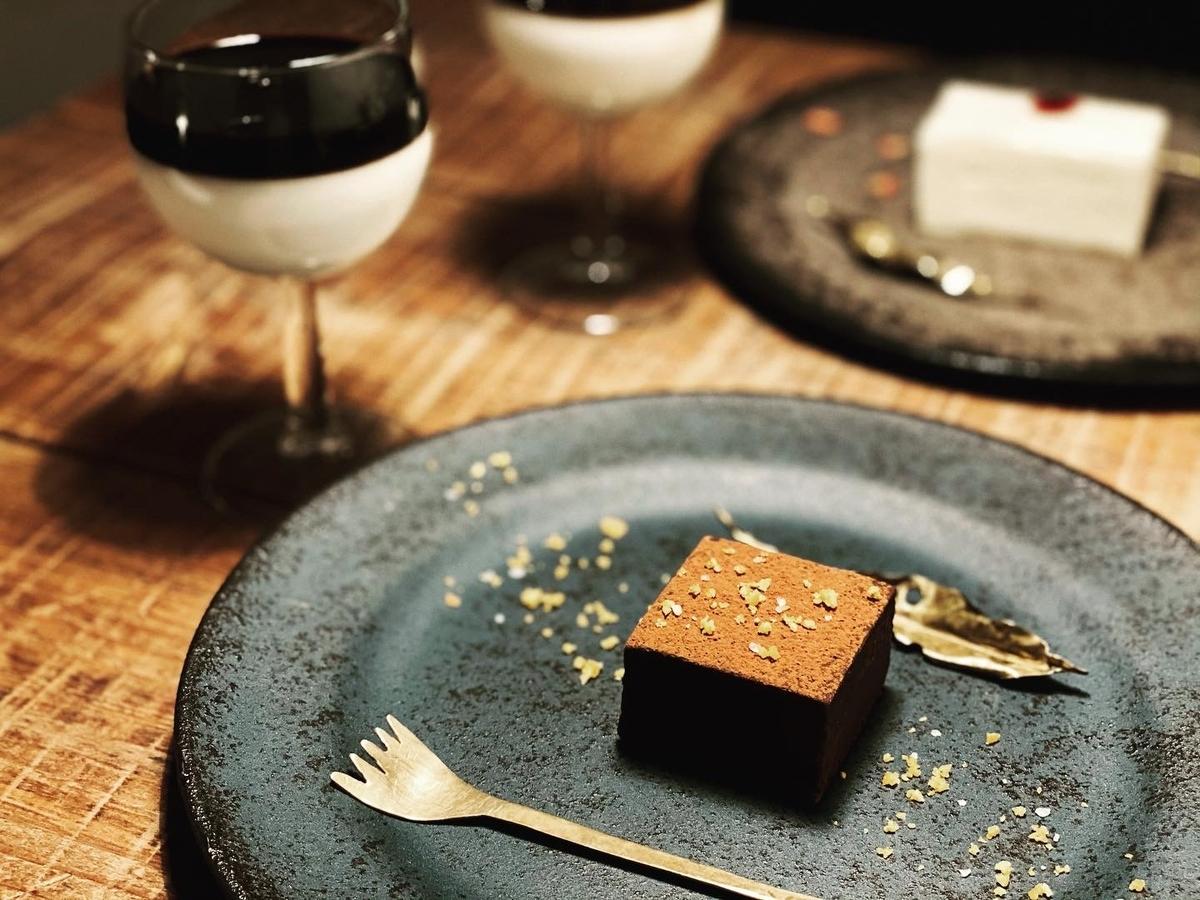星屑のショコラとカフェラテ