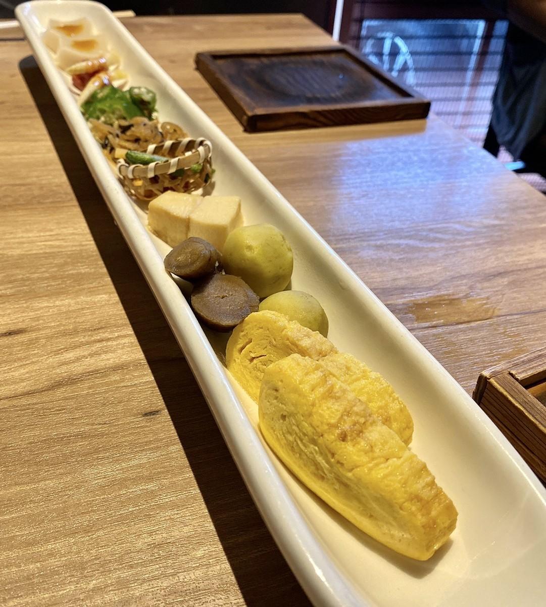 出し巻き卵 ごぼう 芋 豆腐 オクラ