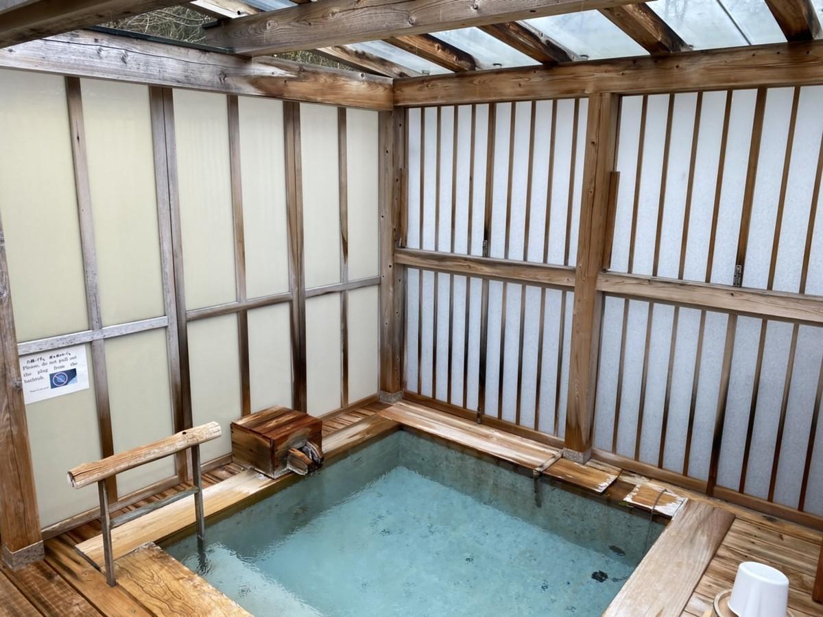 露天風呂 部屋風呂