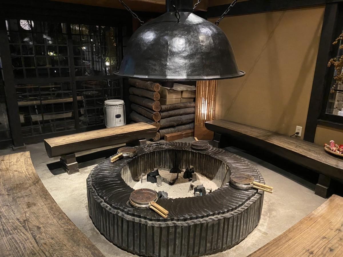 囲炉裏 ポップコーン