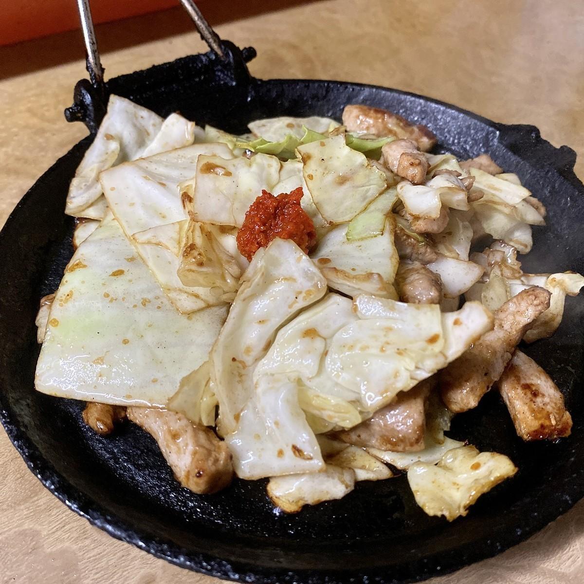鉄板焼き肉 単体