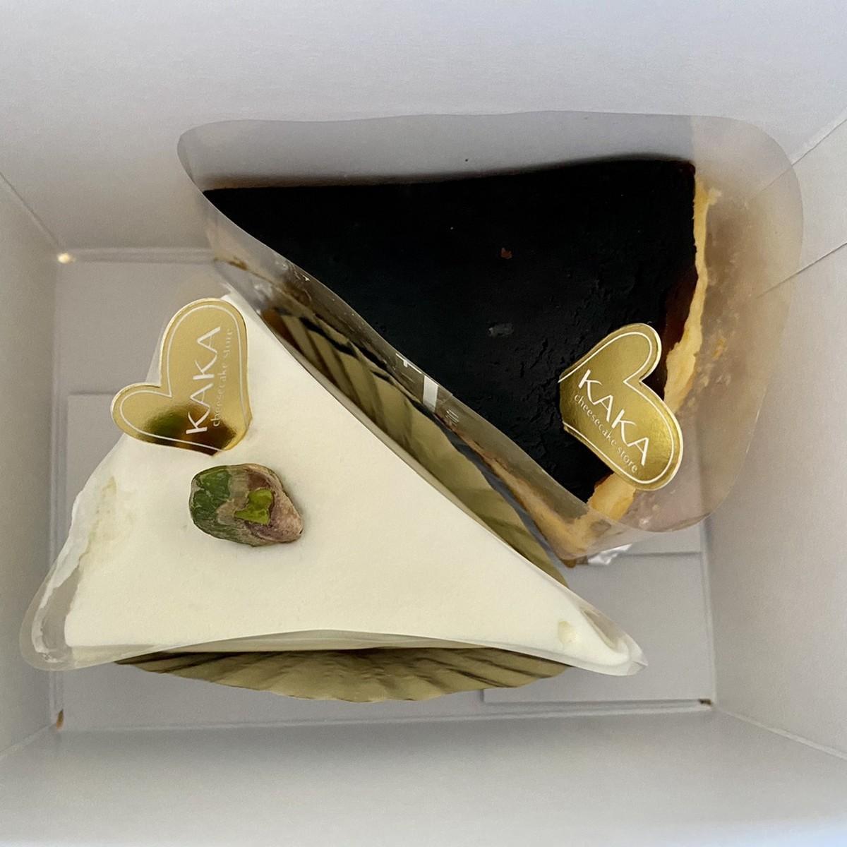 レアチーズケーキ バスクチーズケーキ