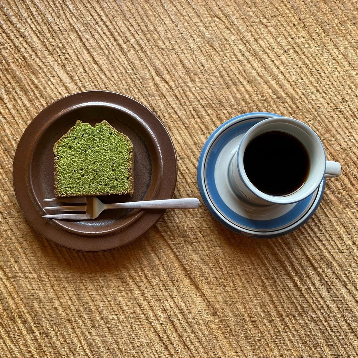 ブレンドコーヒー 抹茶パウンドケーキ