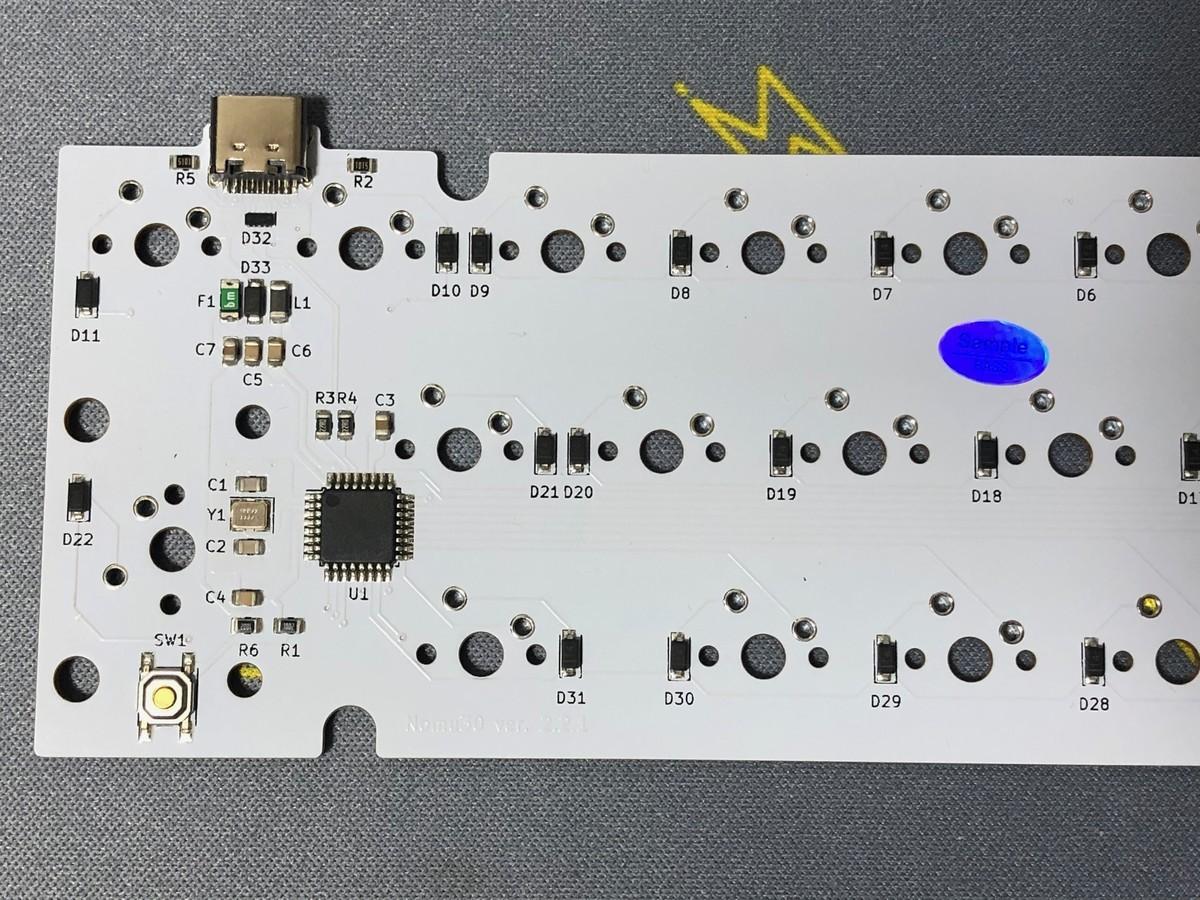 Nomu30 Rev.2 の PCB