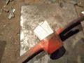バチツルに鉄板を入れる
