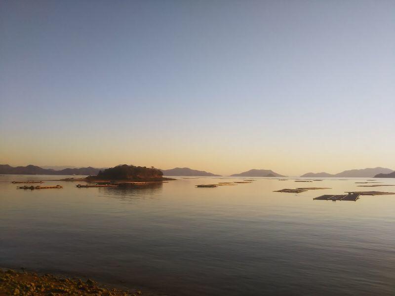 赤崎から見た瀬戸内海
