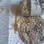 編み図と糸