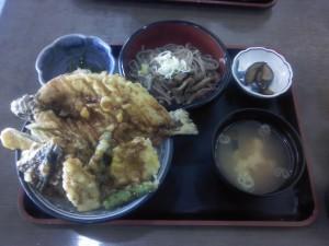 岩魚天丼セット