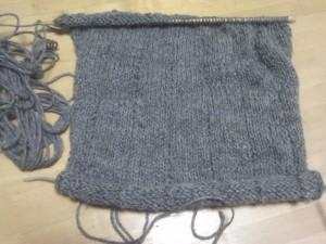 セーターの袖