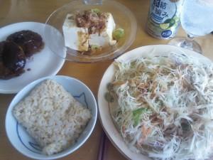 昼食 2013/07/31