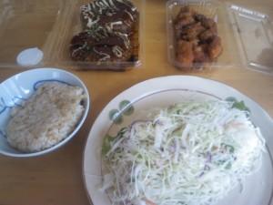 昼食 2013/08/07
