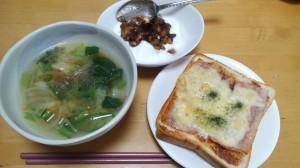 朝食 20140108