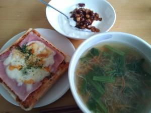朝食 2014/02/20