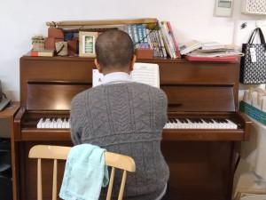生ピアノ係