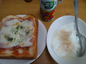 朝食 2014/08/23