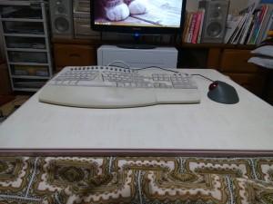 コタツトップパソコン