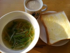 朝食 2015/01/09