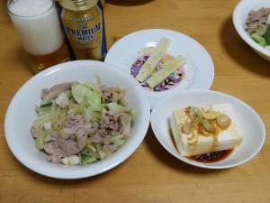 夕食 2015/06/11