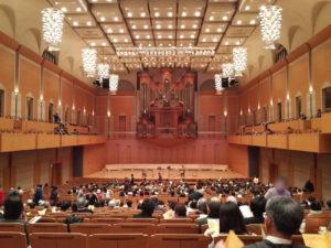 豊田市コンサートホールにて