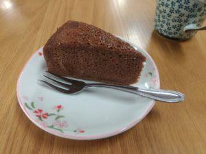 アリエスでいただいたケーキ