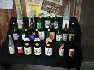 山盛酒造の日本酒たち(瓶のみ)