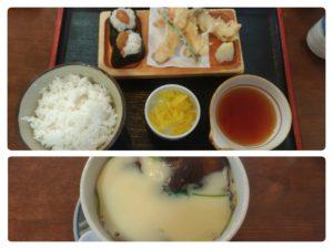 第5回いわくらランチスタンプラリー 天ぷらの里・天