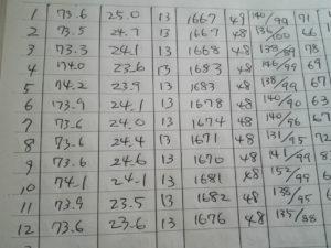 体重記録ノート