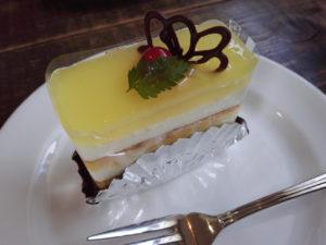 パティスリーモンドのケーキ「ゆず」