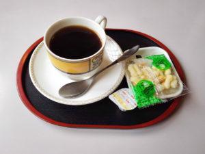 2017/01/22 喫茶おおすみのコーヒー