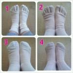 冷えとり靴下の画像